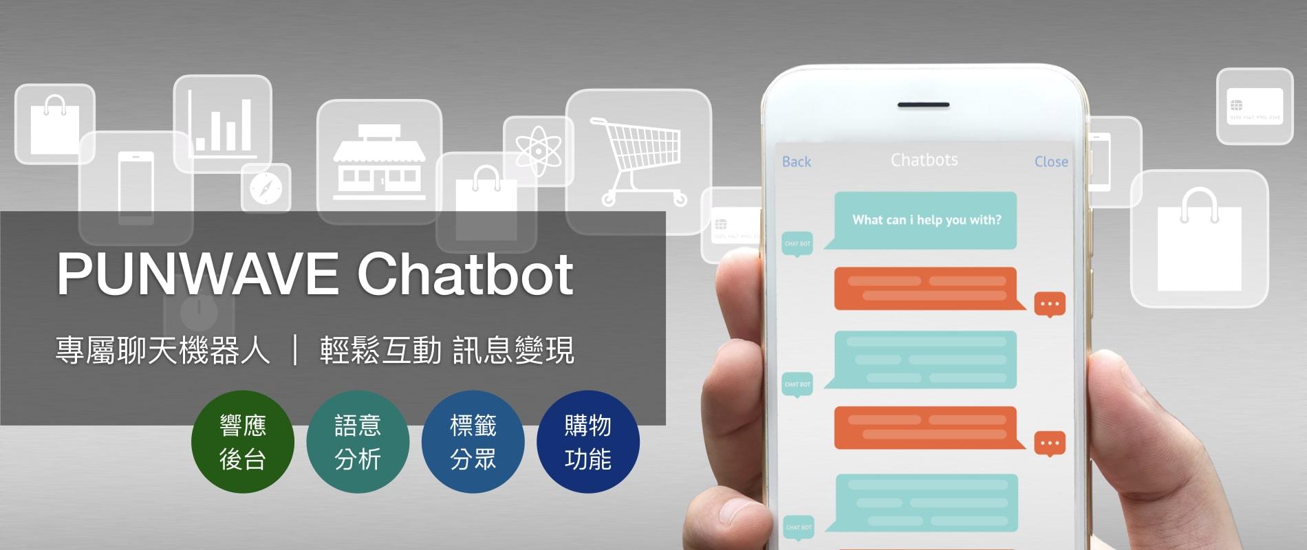 line,facebook,messenger聊天機器人,chatbot,電商,優惠,廣告,行銷